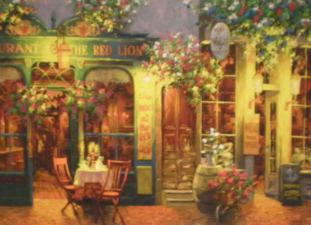 Red Lion 2008 Limited Edition Print by Viktor Shvaiko