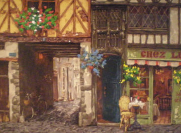 Light in the Passageway Embellished 2002 Limited Edition Print by Viktor Shvaiko