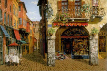 Colors of Italy AP 1999 Limited Edition Print - Viktor Shvaiko