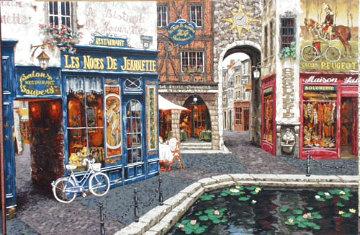 Les Noces De Jeannette 60x40  Huge Original Painting - Viktor Shvaiko