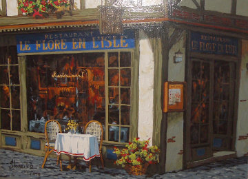 Le Flore En Isle Limited Edition Print by Viktor Shvaiko