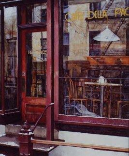 Melting Nostalgia 1993 40x30 Original Painting - Viktor Shvaiko