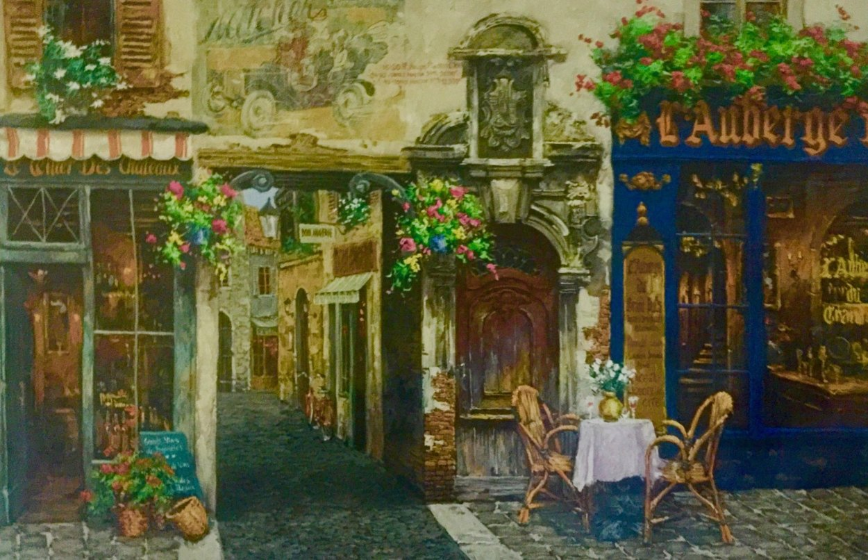 l'Auberge Limited Edition Print by Viktor Shvaiko
