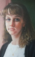 Rehearsal Portrait 1989 33x21 Works on Paper (not prints) by Tom Sierak - 2