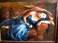 Promise 2002 31x39 Original Painting by Debra Sievers - 1