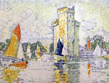Le Port De La Rochelle 1925 Limited Edition Print - Paul Signac