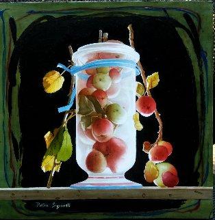 Succose Meline 2018 16x16 Original Painting - Pietro Signorelli