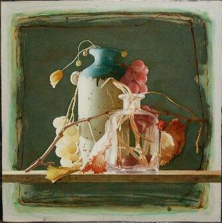 Briciole D'autunno 2018  24x24 Original Painting - Pietro Signorelli