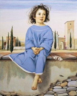 Piccola Contadinella 1991 Limited Edition Print - Pietro Signorelli