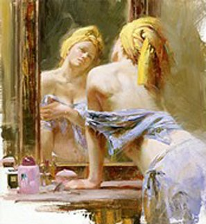 Morning Reflections 2002 Limited Edition Print - Pino Signoretto