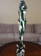 Lovers Murano Unique Glass Sculpture 2007 29 in Sculpture by Pino Signoretto - 1