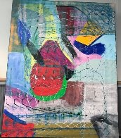 Untitled Painting 2008 62x78 Original Painting by Theos Sijrier - 1