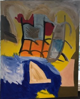 Untitled Painting 2008 62x78 Original Painting by Theos Sijrier