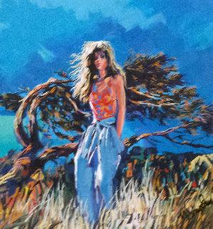 La Plage 1990 Limited Edition Print - Nicola Simbari