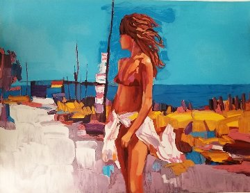 St Tropez Limited Edition Print - Nicola Simbari