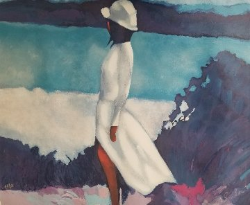 White Dress Limited Edition Print by Nicola Simbari