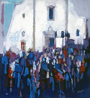 Plazza Del Duomo Limited Edition Print - Nicola Simbari