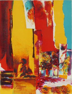 Yellow Wall 1972 Limited Edition Print by Nicola Simbari