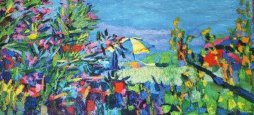 Ischia Wool Tapestry 1965 44x76 Super Huge Tapestry - Nicola Simbari