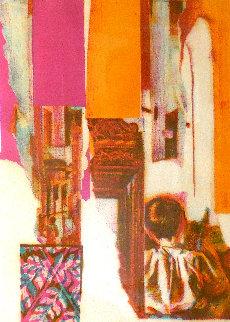 Untitled Serigraph 1970 Limited Edition Print - Nicola Simbari