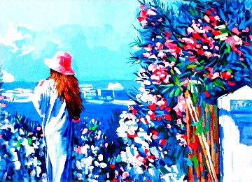 Le Jardin Limited Edition Print - Nicola Simbari