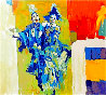 Deux Clowns 1979 Limited Edition Print by Nicola Simbari - 0