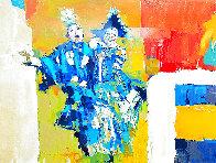 Deux Clowns 1979 Limited Edition Print by Nicola Simbari - 3