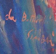 Da Botticelli 43x51 Huge Original Painting by Nicola Simbari - 5