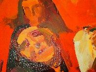 Da Botticelli 43x51 Huge Original Painting by Nicola Simbari - 2