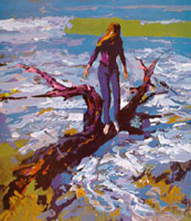 Driftwood Limited Edition Print - Nicola Simbari