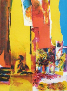 Yellow Wall 1972 Limited Edition Print - Nicola Simbari