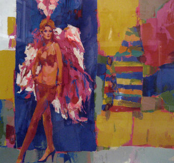 Circus - Vera 1979 Limited Edition Print - Nicola Simbari