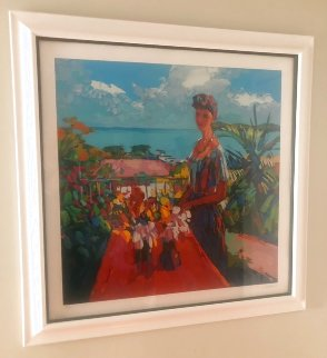 Veranda Limited Edition Print by Nicola Simbari