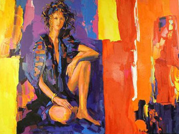 Raquel Limited Edition Print by Nicola Simbari