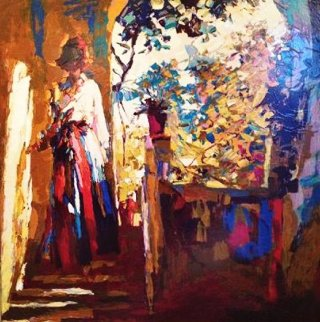 Afternoon in Procina 1981 Limited Edition Print by Nicola Simbari