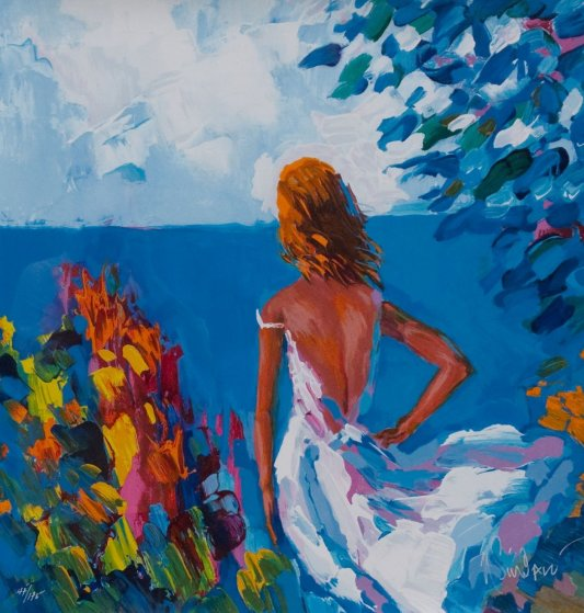 Afternoon in Capri 2001 Limited Edition Print by Nicola Simbari