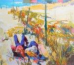 Il Faro 1985 51x51 Original Painting - Nicola Simbari