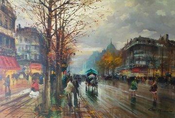 De La Mandalay 40x60 Super Huge Original Painting - Claudio Simonetti