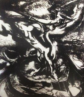 Centaur of the Conquest 1945 Limited Edition Print - David Alfaro Siqueiros