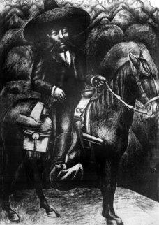 Zapata Limited Edition Print - David Alfaro Siqueiros