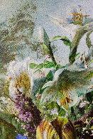 Bouquet of Flowers 2016 47x39 Super Huge Original Painting by Gyula Siska - 6