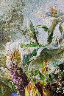 Bouquet of Flowers 2016 47x39 Original Painting - Gyula Siska