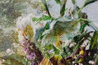 Bouquet of Flowers 2016 47x39 Super Huge Original Painting by Gyula Siska - 7