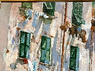 Cinqueterre 1984 52x64 Super Huge Original Painting by Jaro Slavko - 4