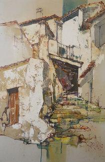 Untitled Painting 37x25 Original Painting - Jaro Slavko