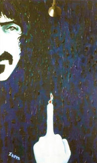 Zappa Unique 2001 36x22 Other - Grace Slick