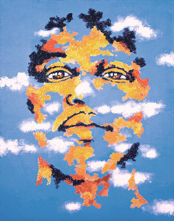 Kiss the Sky - Jimi Hendrix Limited Edition Print - Grace Slick