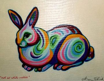 Not So White Rabbit 2009 Limited Edition Print - Grace Slick