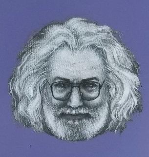 Jerry Garcia   Limited Edition Print - Grace Slick