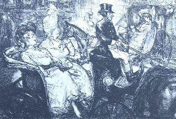 Fifth Avenue Critics 1906 Limited Edition Print - John Sloan